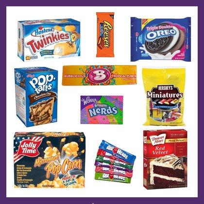 Amerikaans snoep en eten