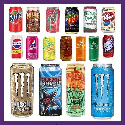 Frisdrank en energy drinks import